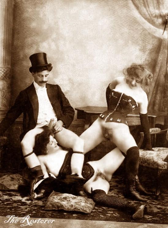 1900 старое порно
